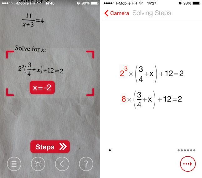 Photomath App Resolve Equacoes Para Voce Usando A Camera Do Seu Celular Tecmundo