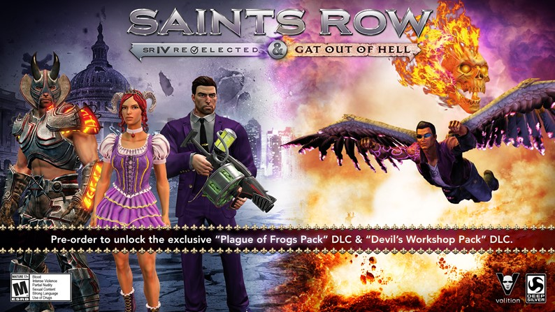 Saints Row: Gat Out of Hell Trailer ~ The 7 Deadly Sins of Johnny Gat