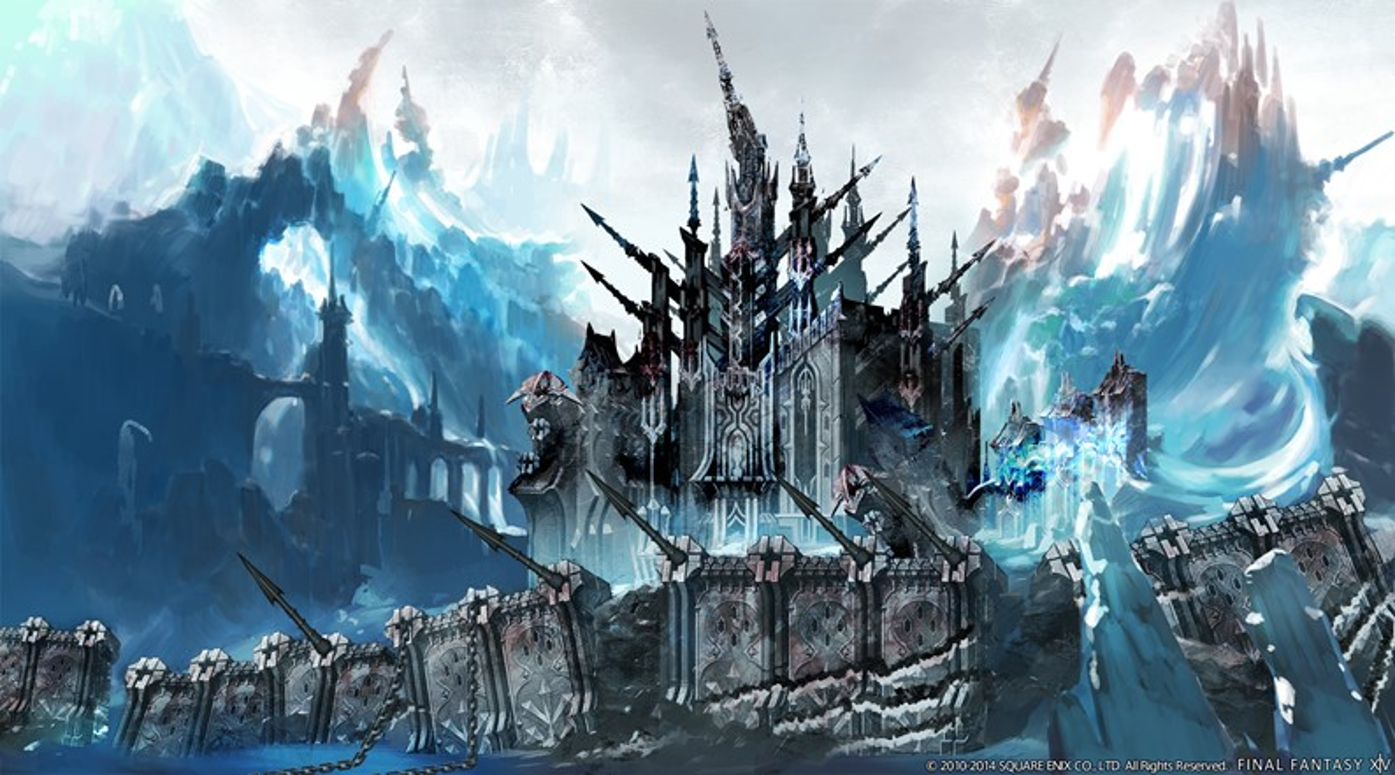 Final Fantasy XIV: Heavensward - Screens e artes dos ambientes