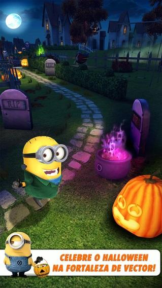 O Halloween já chegou ao app Meu Malvado Favorito: Minion Rush
