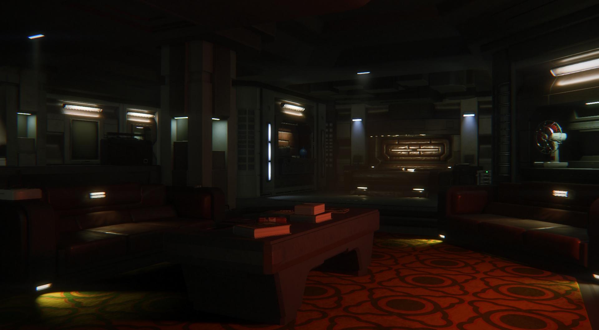 Alien: Isolation - Novas imagens da DLC Corporate Lockdown