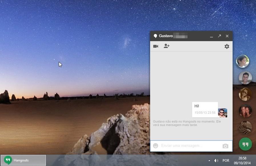Hangouts para Chrome - Imagem 1 do software