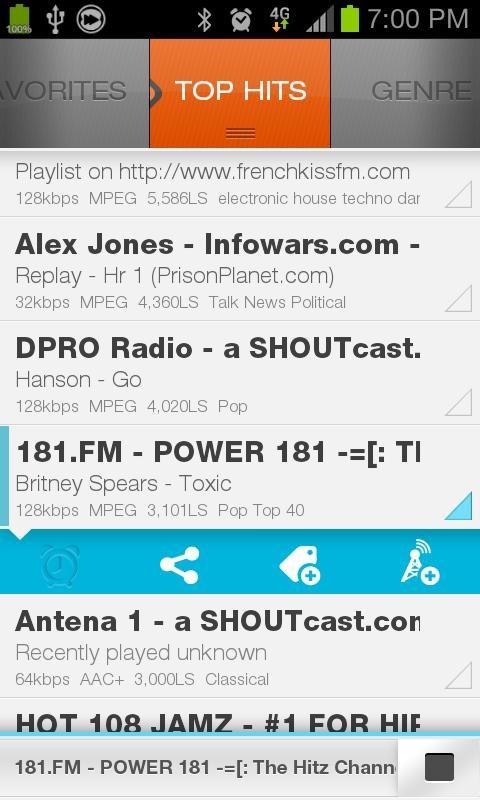 XiiaLive Pro - Internet Radio - Imagem 2 do software