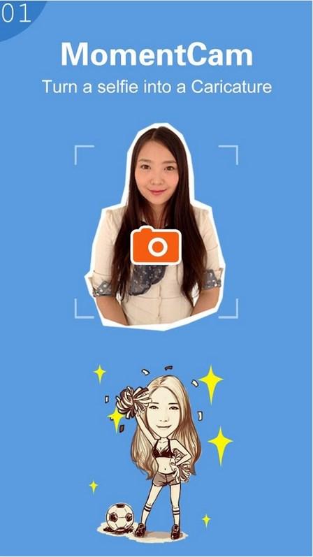 MomentCam - Imagem 1 do software