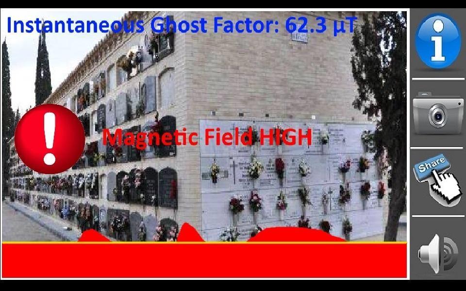 Detector de fantasma - Imagem 1 do software