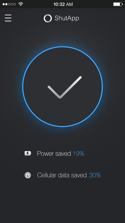 ShutApp - Real Battery Saver - Imagem 2 do software
