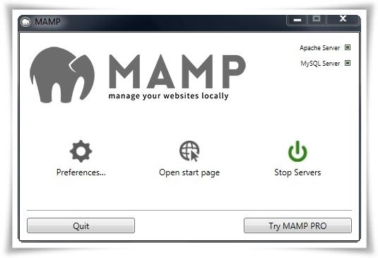 MAMP for Windows - Imagem 1 do software