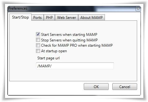 MAMP for Windows - Imagem 2 do software
