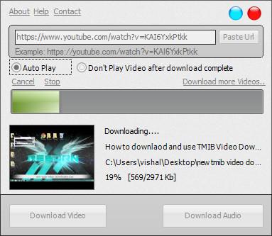 Tmib Video Downloader - Imagem 1 do software