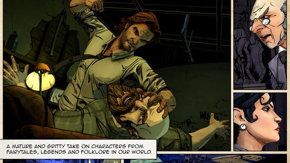 The Wolf Among Us - Imagem 1 do software