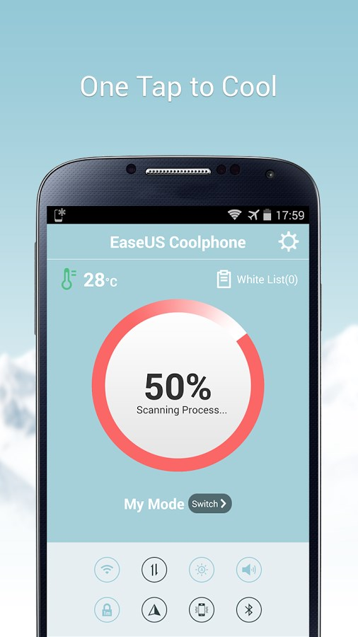 EaseUS Coolphone-Cool Battery - Imagem 1 do software