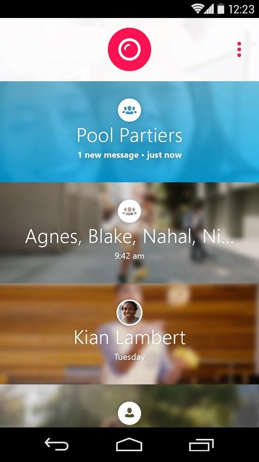 Skype Qik: Mensagem com vídeo - Imagem 1 do software