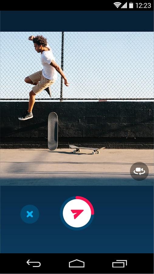 Skype Qik: Mensagem com vídeo - Imagem 2 do software