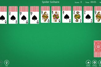 Spider Solitaire` Download para Windows Grátis