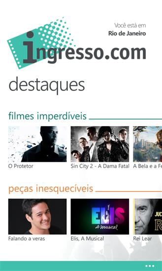 Ingresso.com - Imagem 2 do software