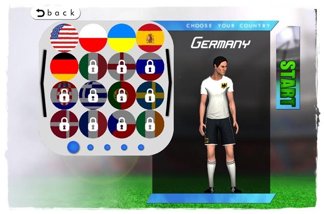 Football World League: Flick, Score & Kick Cup 14 - Imagem 2 do software