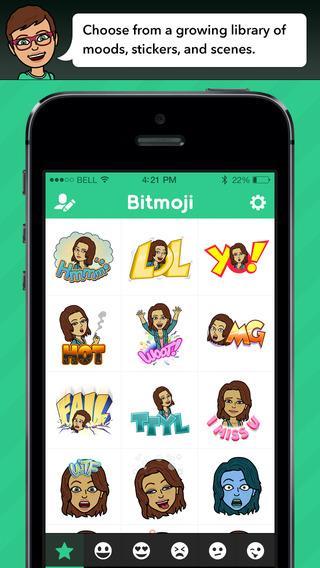 Bitmoji - Imagem 2 do software