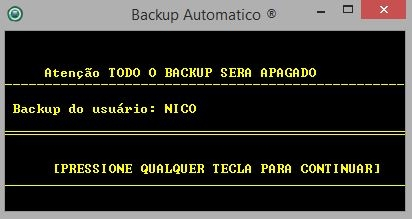 Auto Backup - Imagem 4 do software