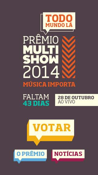 Prêmio Multishow 2014 - Imagem 1 do software