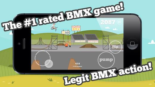 Pumped: BMX - Imagem 1 do software