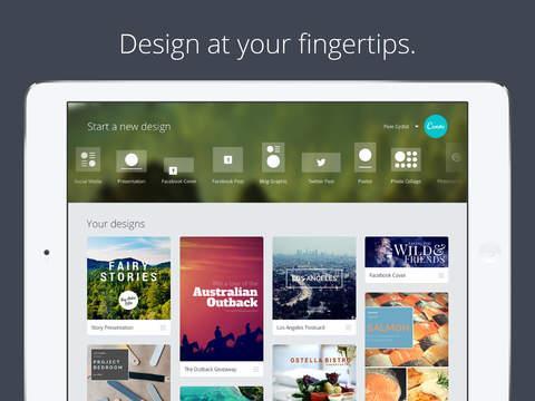 Canva - Graphic Design & Photo Editing - Imagem 1 do software