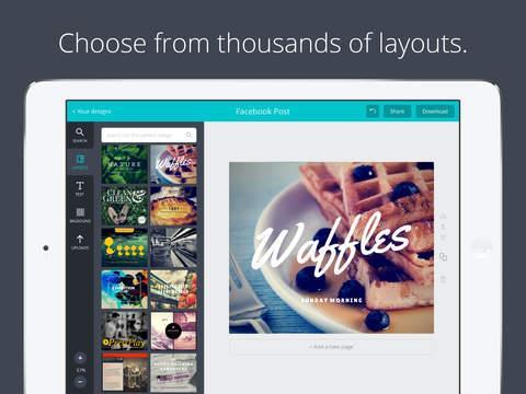 Canva - Graphic Design & Photo Editing - Imagem 2 do software