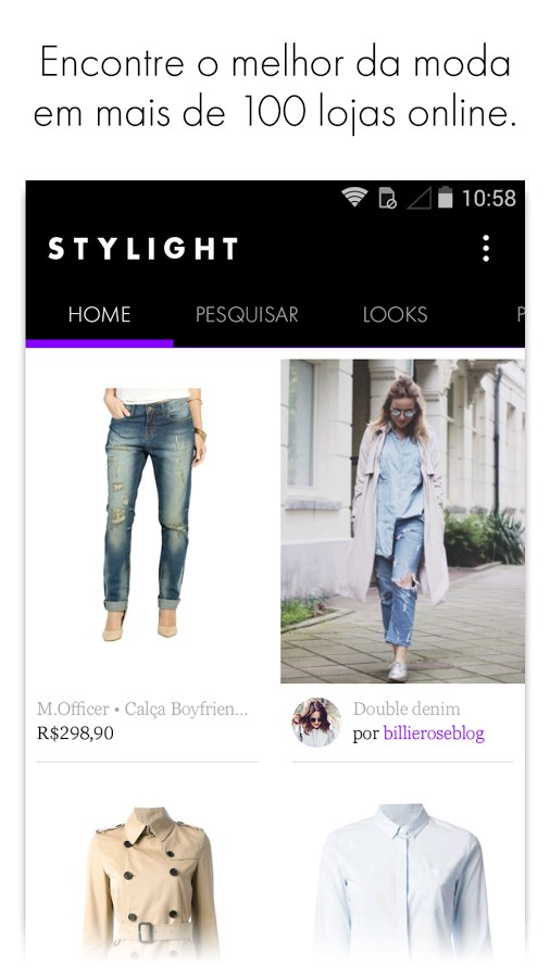 STYLIGHT − A moda que você ama - Imagem 1 do software