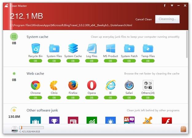 Clean Master Download para Windows Grátis