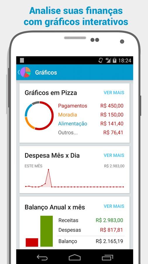 Gerenciador Financeiro Mobills - Imagem 1 do software