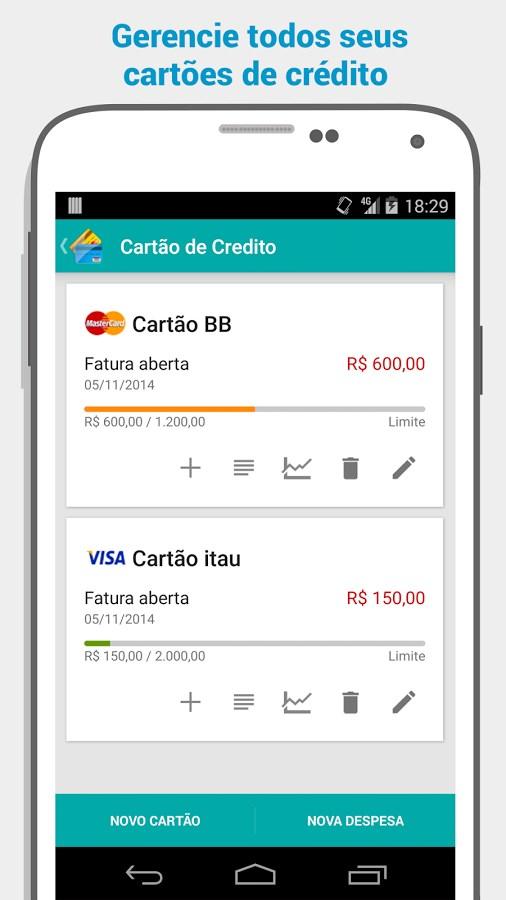 Gerenciador Financeiro Mobills - Imagem 2 do software