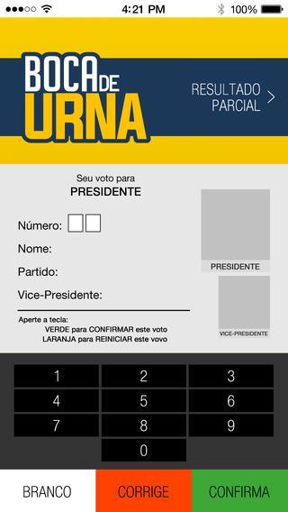 Boca De Urna - Eleições 2014 - Imagem 1 do software