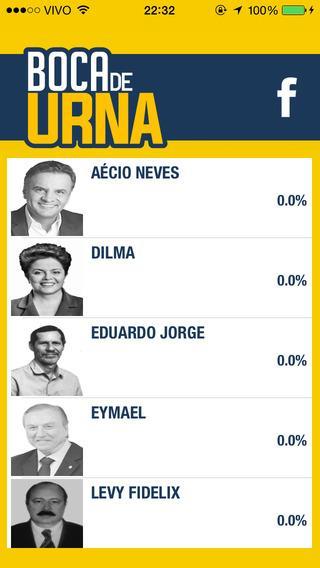 Boca De Urna - Eleições 2014 - Imagem 2 do software