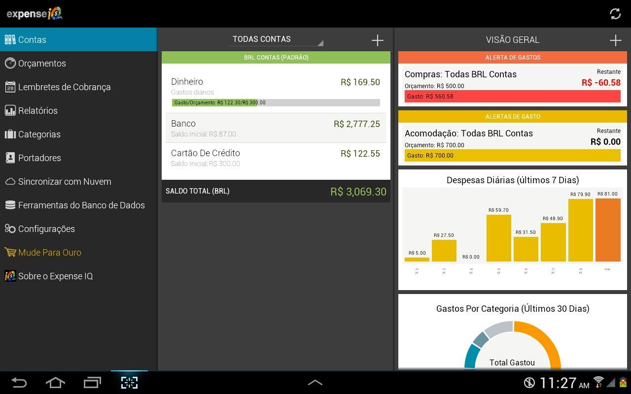 Expense IQ - gerent de despesa - Imagem 1 do software