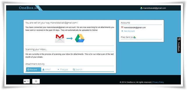 OneBox.io - Imagem 2 do software