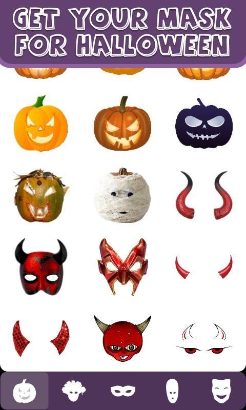Mask Selfie: for Halloween - Imagem 2 do software