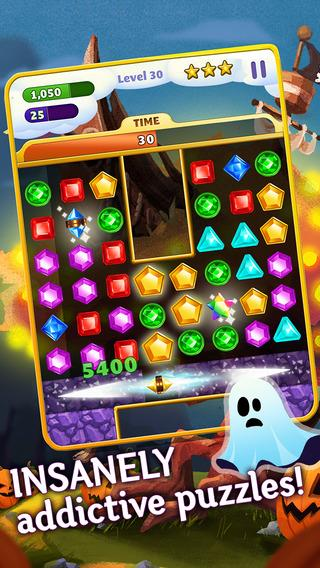 Jewel Mania Halloween - Imagem 1 do software