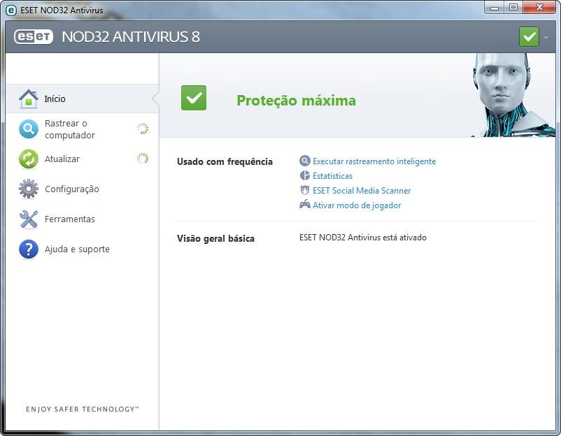 ESET NOD32 Antivirus - Imagem 1 do software