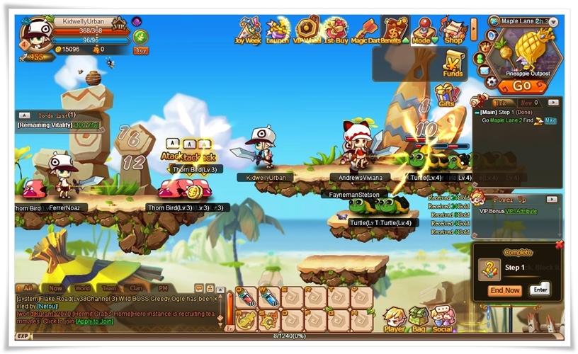 Rainbow Saga - Imagem 1 do software