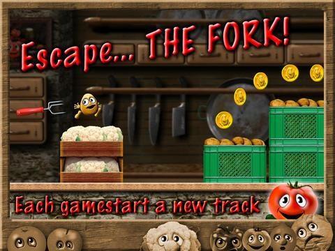 Potato Escape - Endless Runner - Imagem 1 do software