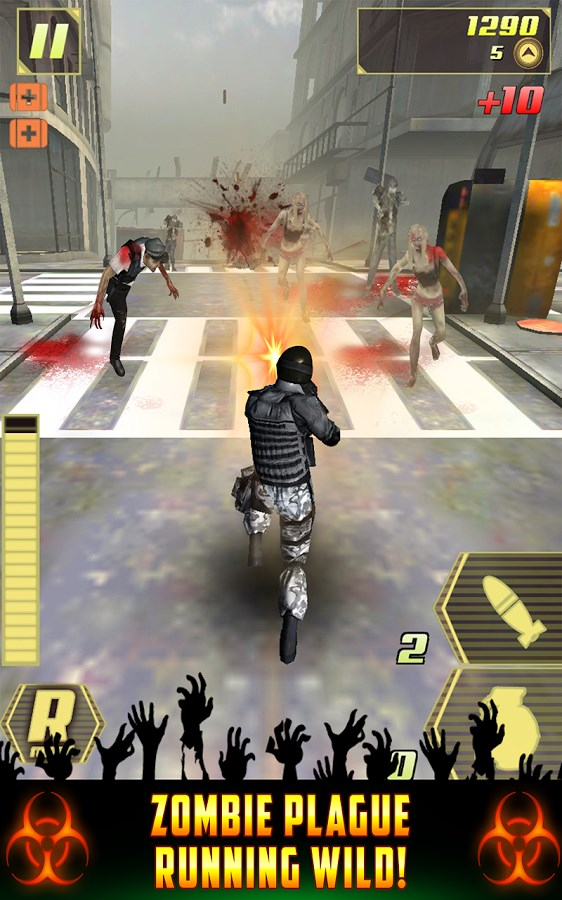 Zombie Plague Overkill Combat! - Imagem 1 do software