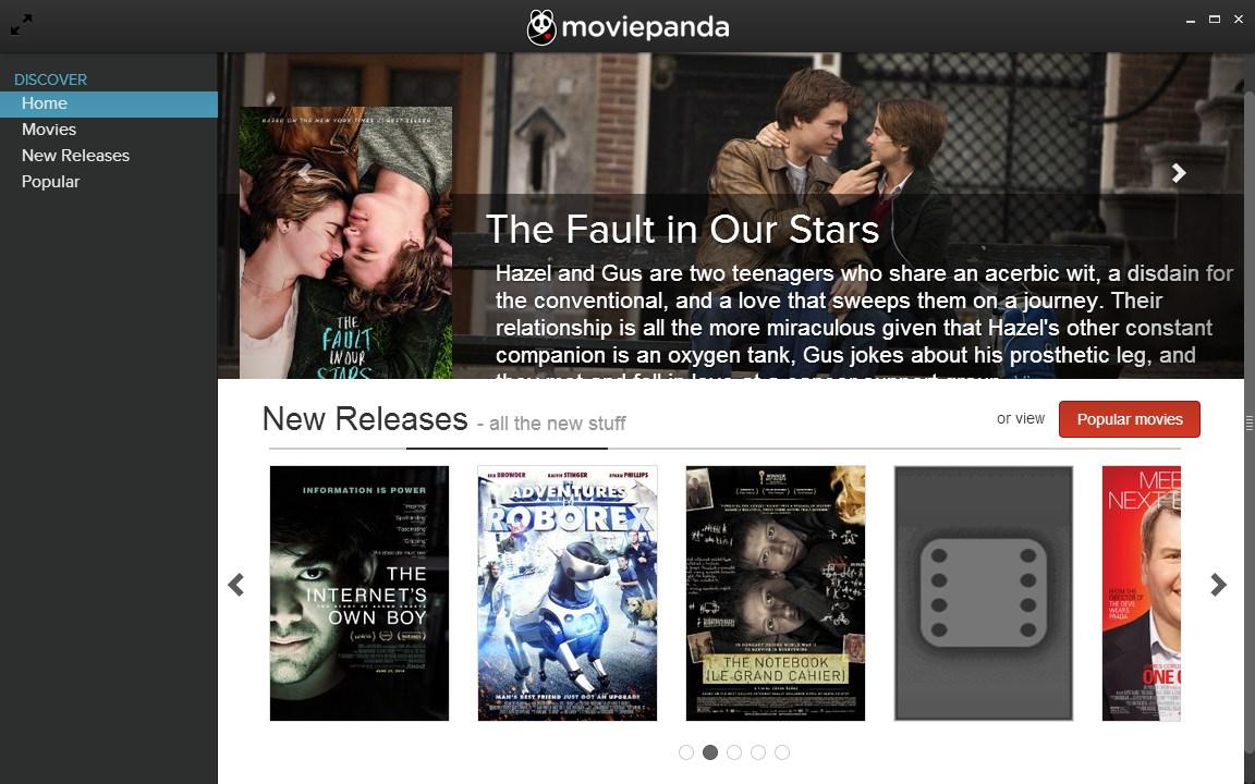 MoviePanda - Imagem 1 do software