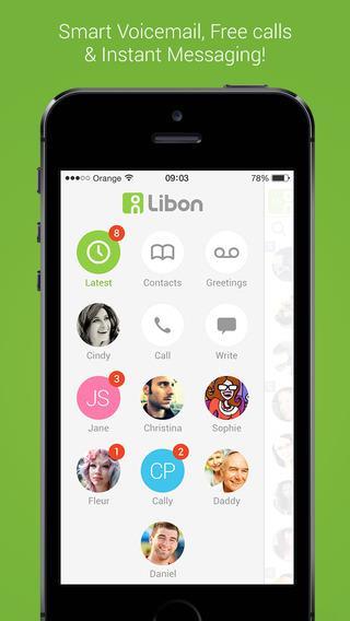 Libon – Chamadas gratuitas - Imagem 1 do software