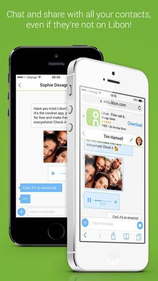 Libon – Chamadas gratuitas - Imagem 2 do software