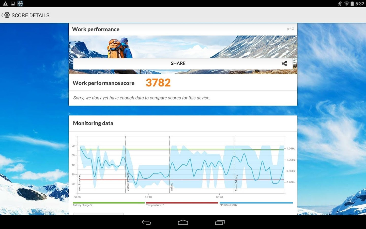 PCMark for Android Benchmark - Imagem 1 do software