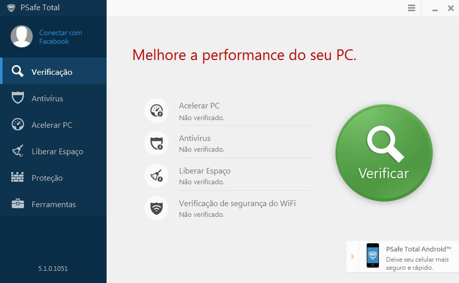 PSafe Total - Imagem 1 do software
