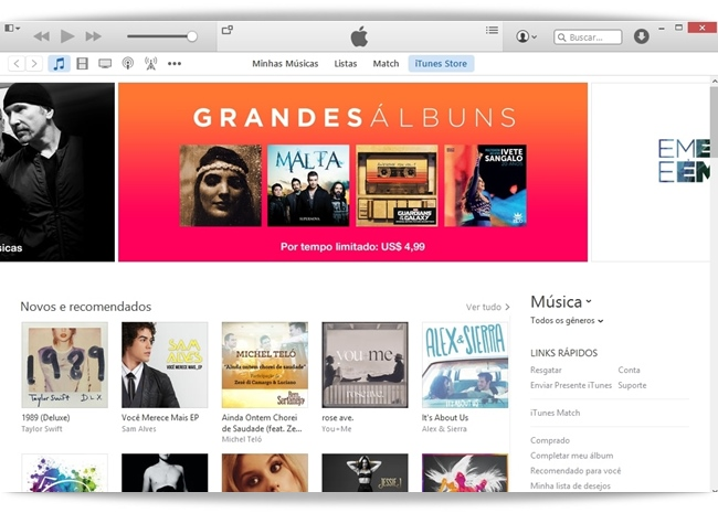 iTunes - Imagem 1 do software