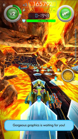 Glidefire Endless Run - Imagem 2 do software