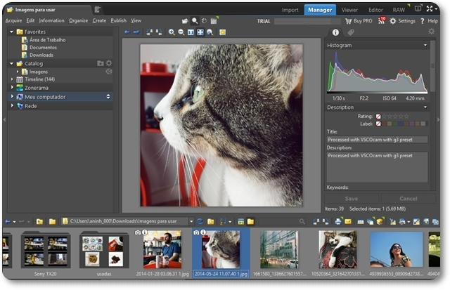 Zoner Photo Studio Free - Imagem 1 do software