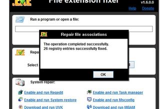 File Extension Fixer Download para Windows Grátis