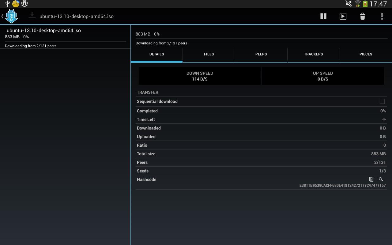 aTorrent PRO - App Torrent - Imagem 1 do software